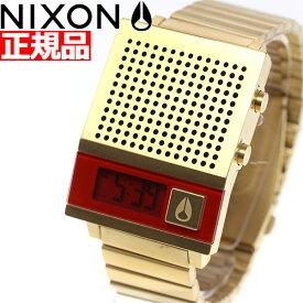 【25日0時〜♪店内ポイント最大51倍!25日23時59分まで】【最大1万円OFFクーポン!24日23時59分まで】ニクソン NIXON ドーク トゥー DORK TOO 腕時計 メンズ レディース オールゴールド NA1266502-00