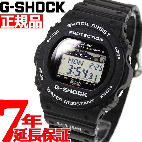 【店内ポイント最大37倍!19日9時59分まで】G-SHOCK 電波 ソーラー 電波時計 ブラック カシオ Gショック G-LIDE 腕時計 メンズ CASIO GWX-5700CS-1JF【2018 新作】