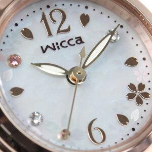 【SHOPOFTHEYEAR2018受賞】シチズンウィッカCITIZENwicca20周年記念限定モデルソーラーテック腕時計レディース20thAnniversaryKP3-619-95【2019新作】