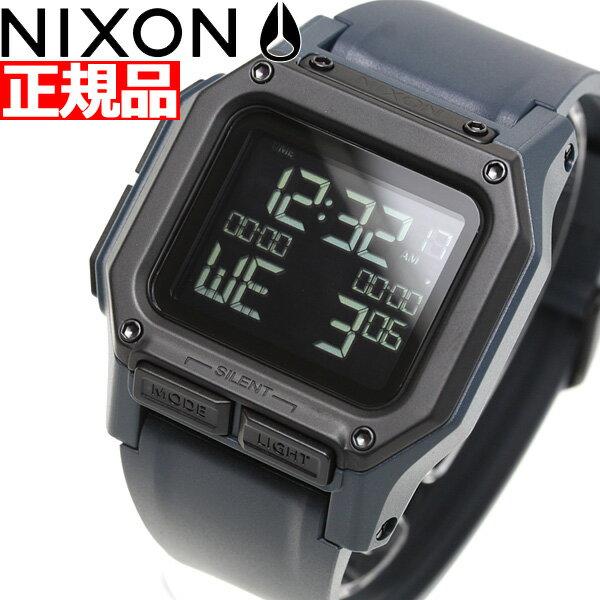 【店内ポイント最大37倍!19日9時59分まで】ニクソン NIXON レグルス REGULUS 日本限定カラー 腕時計 メンズ DARK SLATE NA11802889-00【2019 新作】