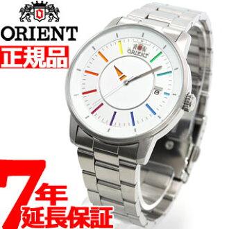 오리엔트 ORIENT 세련 및 스마트 디스크 DISK 레인 보우 시계 남성용 페어 워치 오토매틱 WV0821ER