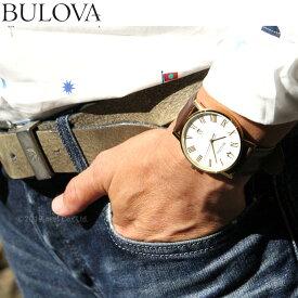 【店内ポイント最大49倍&2000円OFFクーポン!28日1時59分まで】ブローバ BULOVA 腕時計 メンズ クラシック CLASSIC 97B183