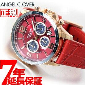 【本日限定!店内ポイント最大37倍!20日23時59分まで】エンジェルクローバー ANGEL CLOVER ソーラー 腕時計 メンズ タイムクラフト TIME CRAFT クロノグラフ TCS44PG-RE