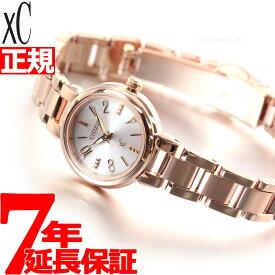 【18日10時〜!店内ポイント最大37.5倍!】シチズン クロスシー XC エコドライブ 腕時計 レディース CITIZEN XC XCB38-9143