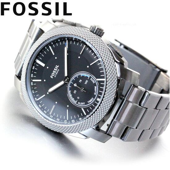 フォッシルFOSSILQハイブリッドスマートウォッチウェアラブル腕時計メンズマシーンQMACHINEFTW1166【2018新作】