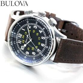 ブローバ BULOVA 腕時計 メンズ 自動巻き メカニカル ミリタリー Military 96A245【2020 新作】