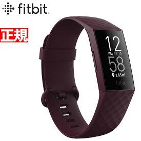 【本日限定!店内ポイント最大39倍!】フィットビット Fitbit charge4 チャージ4 フィットネス トラッカー ウェアラブル端末 GPS搭載 腕時計 心拍計 ローズウッド FB417BYBY-FRCJK【2020 新作】