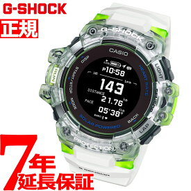 【本日限定!店内ポイント最大37倍!20日23時59分まで】G-SHOCK G-SQUAD カシオ Gショック ジースクワッド CASIO 心拍計 Bluetooth搭載 GPS ソーラー 腕時計 メンズ スマートフォンリンク GBD-H1000-7A9JR【2020 新作】