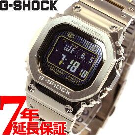 【5日0時〜!最大2000円OFFクーポン&店内ポイント最大60.5倍!5日23時59分まで】カシオ Gショック CASIO G-SHOCK タフソーラー 電波時計 デジタル 腕時計 メンズ フルメタル ゴールド GMW-B5000GD-9JF
