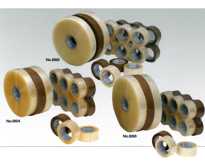 【積水化学工業】 セキスイ シュープリーム OPPテープE No.882 透明・茶 (36巻入り) 0.052x48mmx100m