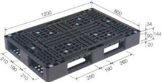 三甲塑料调色板再利用调色板D4-812