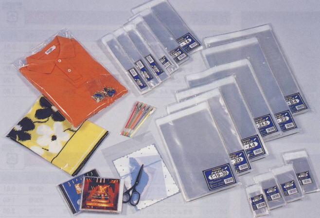 【福助工業】 オーピーパック テープ付 ワンタッチ袋 T-12 (120x230+40mm) 1000枚入