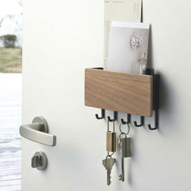RIN ホルダー付きマグネットキーフック リン 【鍵入れ 玄関収納 玄関 カギ収納 マグネット 磁石 リンシリーズ】