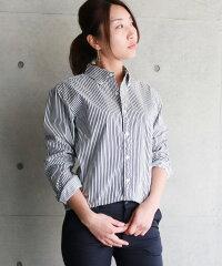 シャツレディースユニセックスメンズ日本製ブロードオックスフォードシャーリングボタンダウン長袖大きめ大きいサイズトールサイズ