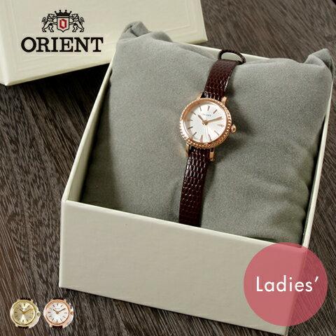 【腕時計 レディース】ORIENT オリエント 丸型 クラシック 本革 レザー ベルト アナログ 腕時計 ウォッチ 女性 レディースギフト