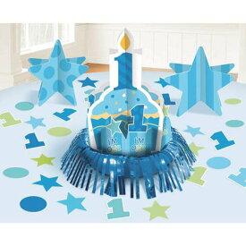 テーブルデコレーションキット 1歳誕生日 パーティー 飾り バースデー メモリアル イベント 記念日【定形外郵便送料無料】