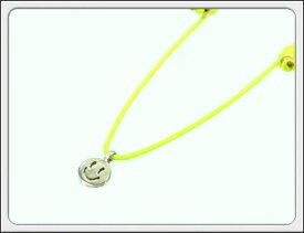 nine SIXty(ナインシックスティ)babyamulet-smile ベビーアマレット(スマイル)コードブレスレット/アンクレット 【メンズ レディース ペア ハイエンド アクセサリー ジュエリー デザイナー 加藤 博照 セミオーダー】