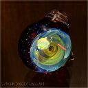 synchronicity glass art(シンクロニシティ グラス アート)太田 龍『Warp hall/ワープホール』(sng-843)ボロシリケイト ガラス 宇宙 ペンダント アクセサリー ジュエリー メンズ レディース