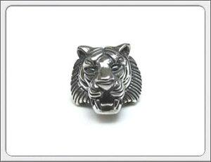 OWL'S(アウルズ)シルバー 925 「タイガー ピアス」SILVER 925【銀 メンズ レディース アクセサリー ジュエリー ハンドメイド 具象 ハード 虎 トラ 動物 指輪】TPi -01