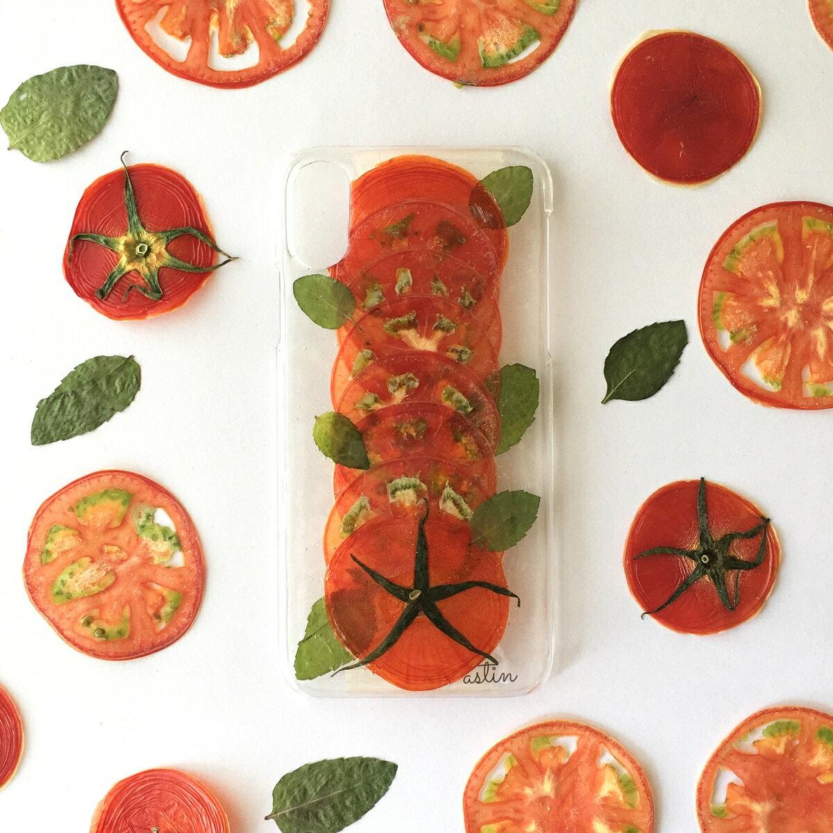 トマト!とまと!トマト! 押し野菜 押しフルーツ トマト 野菜 とまと 全機種対応 iPhone XS ケース iPhone XR iPhone XS max ケース iphone x ケース iphone8 iphone7ケース スマホ iphone8Plus アメーラ