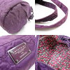 Ante prima ballerina ANTEPRIMA handbag 2Way bag purple nylon - t6389