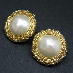 香奈爾CHANEL耳環黄金金屬材料x假貨珍珠女士-t7837