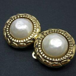 香奈爾CHANEL耳環黄金x白金屬材料x假貨珍珠女士-t8614