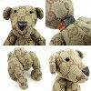 古驰GUCCI nuigurumikuma玩具熊GG花纹玩具熊◆浅驼色帆布◆推荐的◆女士-h13060