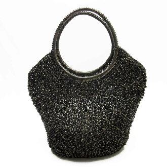Ante prima ballerina ANTEPRIMA handbag wire bag wire bronze PVC Lady's - t12681