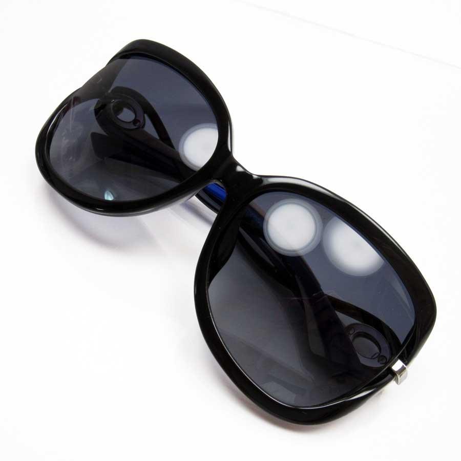 クリスチャンディオール Christian Dior サングラス 60□16 135 フレーム:ブラックxブルーxピンク レンズ:ブラック プラスチック レディース 【中古】【定番人気】 - n8575