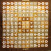 Silk 100% - h18560 of Hermes HERMES scarf boyfriend 90 Brown line
