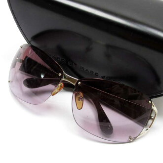 Mark by mark Jacobs MARC BY MARC JACOBS sunglasses 63 □ 12 120 frame: A silver lens: A purple temple: Dark purple SSx plastic Lady's - h20380