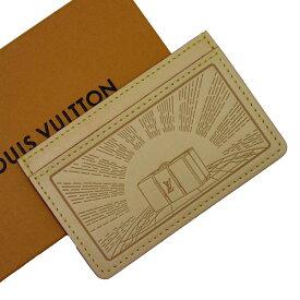 ルイヴィトン Louis Vuitton パスケース カードケース ナチュラル ヌメ革 レディース メンズ 値下げ商品【中古】【定番人気】 - h20812