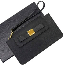 プラダ PRADA 長財布 リボン NERO(ブラック) xゴールド サフィアーノレザー レディース 【中古】【おすすめ】 - t14822