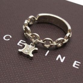 セリーヌ CELINE 指輪 リング マカダム シルバー 925 レディース 【中古】【定番人気】 - h22236