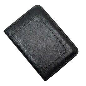 ルイヴィトン Louis Vuitton カードケース 定期入れ パスケース ユタ オーガナイザー・ドゥ・ボッシュ ノワール ユタレザー レディース メンズ M92997 【中古】【訳あり】 - h22519