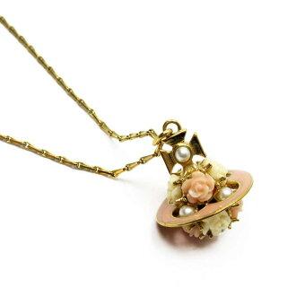 維維恩維斯特伍德Vivienne Westwood nekkuresuobupinku x黄金金屬材料x假貨珍珠x樹脂女士-g1175