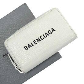 バレンシアガ BALENCIAGA コインケース ホワイト レザー 【中古】【定番人気】 - g2300g