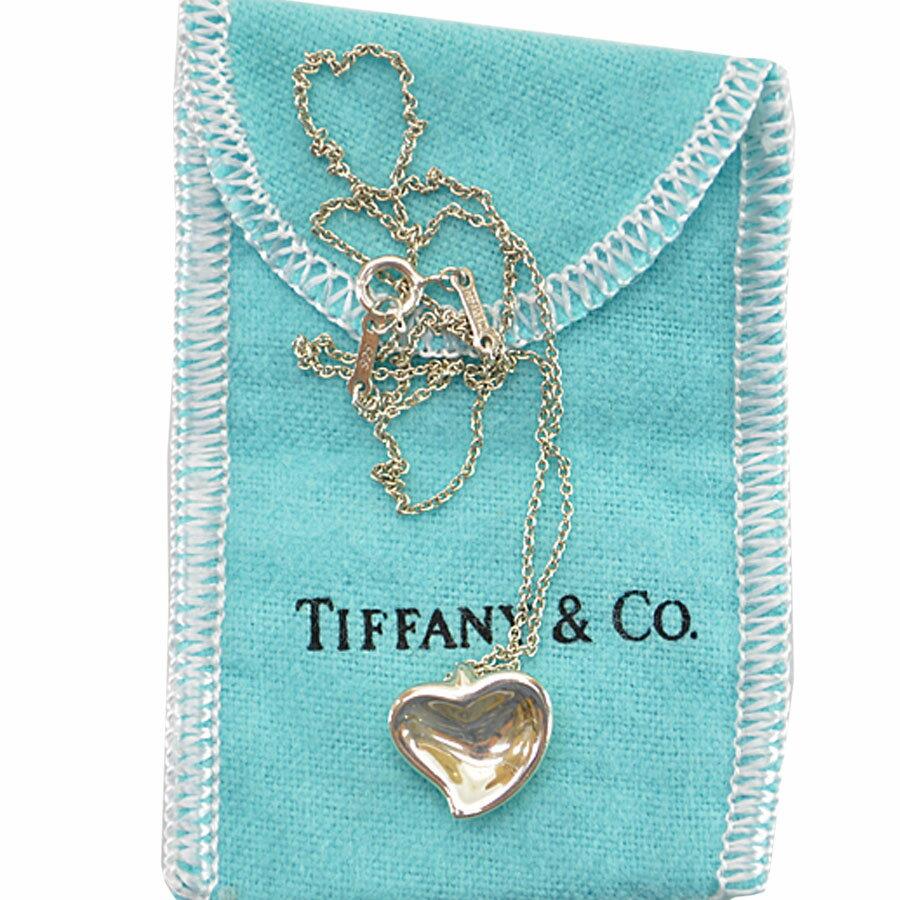 ティファニー Tiffany & Co. ネックレス フルハート シルバーカラー SV925 レディース 【中古】【定番人気】 - r6185