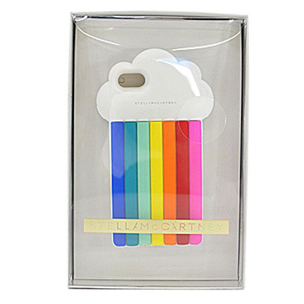 ステラマッカートニー Stella McCartney iPhone7 ケース ホワイトxマルチ シリコン レディース 【中古】【定番人気】 - r6281