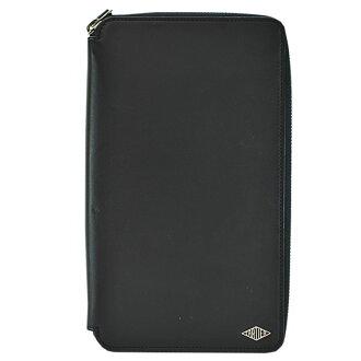 까르띠에 Cartier organizer 블랙 x보르도(안쪽) 레더 라운드 패스너장 지갑 레이디스 맨즈- r6503