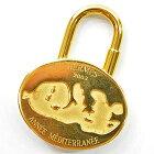 エルメス HERMES カデナ 地中海2003年 ◆ゴールドカラー 金属素材◆定番人気【中古】 ◆レディース メンズ - s0013