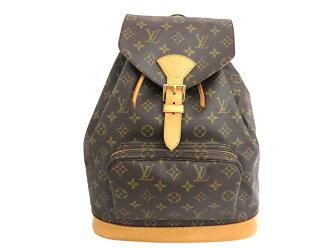 Louis Vuitton Louis Vuitton bag monogram Monogram mon pickpocket GM brown monogram canvas beauty product rucksack backpack Lady's M51135 case cheap - e26041