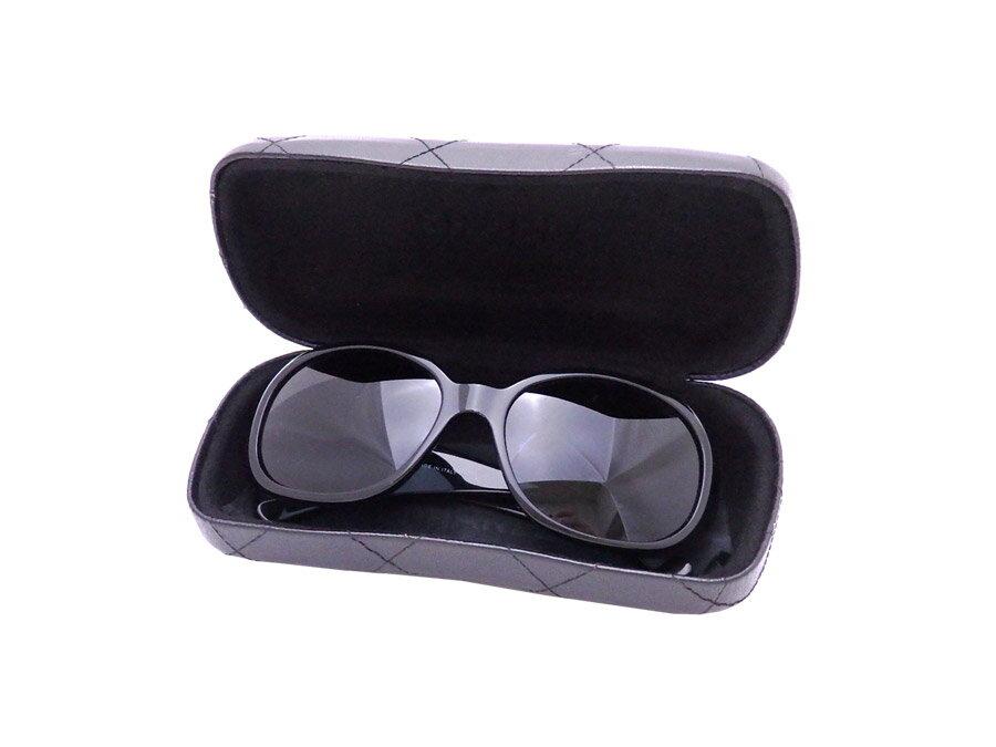 シャネル CHANEL サングラス カメリア ココマーク ブラック プラスチック ファッションサングラス バタフライグラス レディース 【中古】【おすすめ】 - e31929