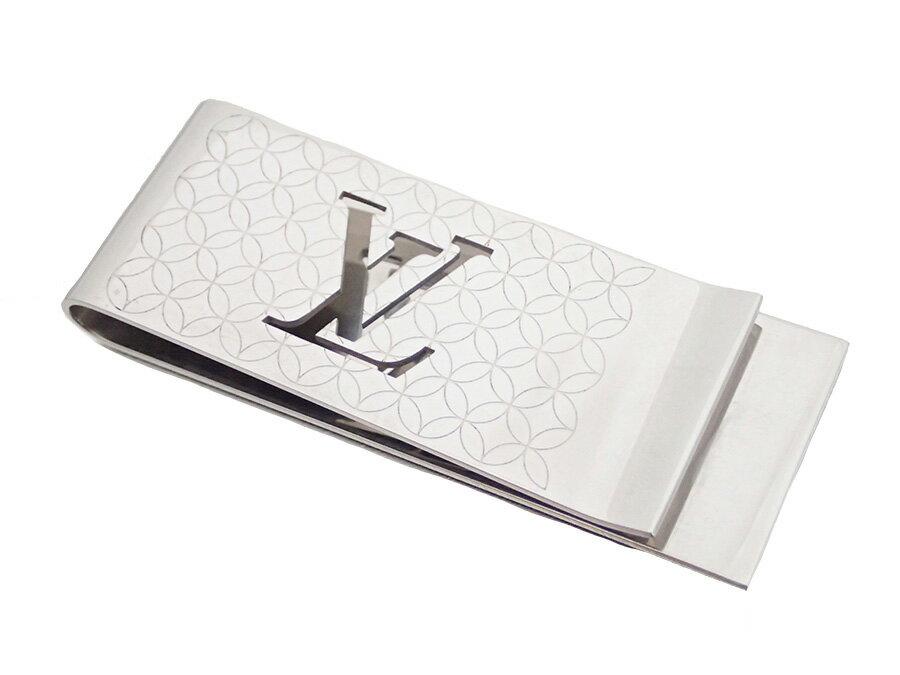 ルイヴィトン Louis Vuitton M65041 パンス・ビエ・シャンゼリゼ マネークリップ ビルクリップ シルバー 金属素材 メンズ【中古】【定番人気】- e32336