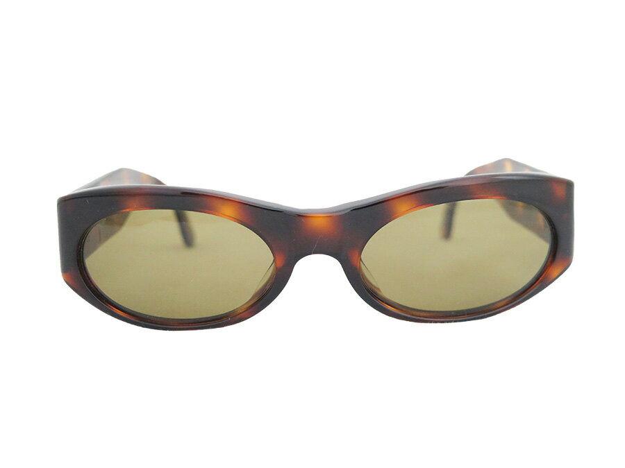 シャネル CHANEL ココマーク サングラス 眼鏡 ダークブラウン プラスチック レディース【中古】【定番人気】- e32536