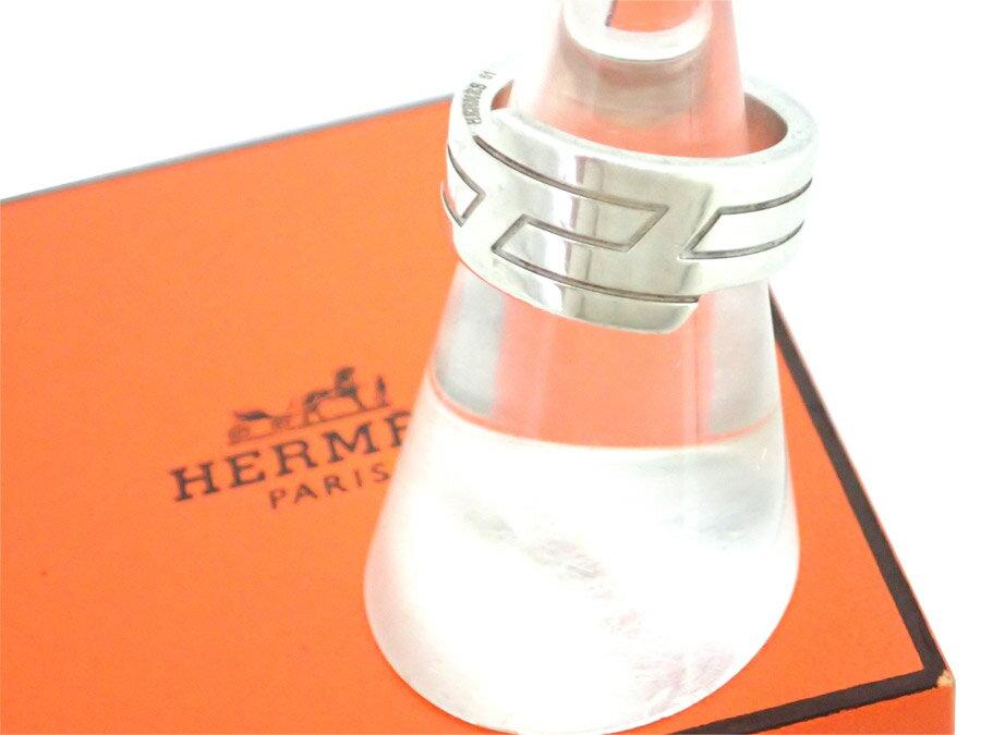 エルメス HERMES リング シルバー SV925 指輪 シルバーリング レディース メンズ 【中古】【定番人気】 - e33316