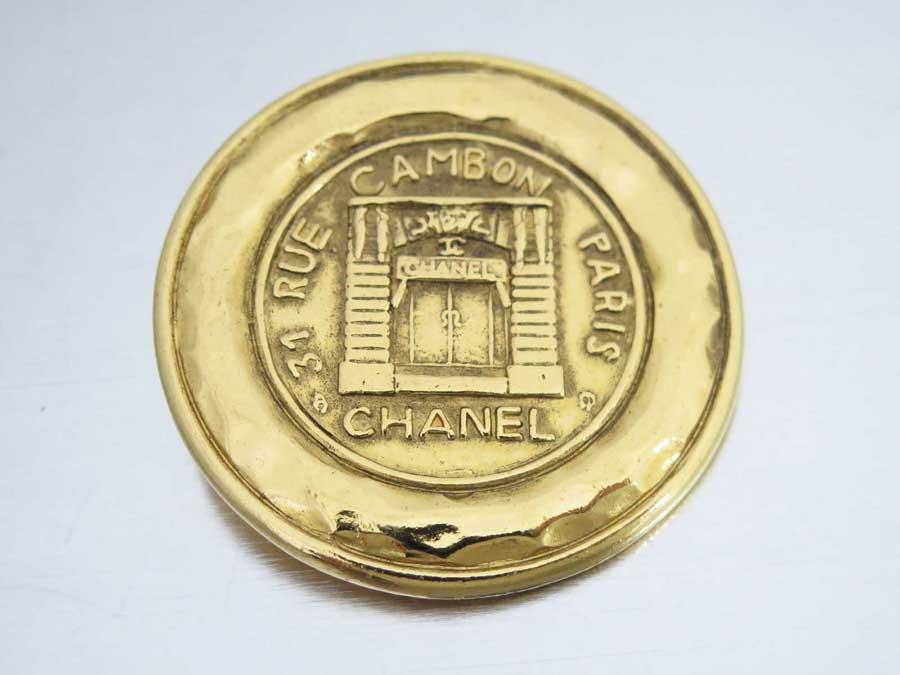 シャネル CHANEL ブローチ 31 RUE CAMBON ゴールド 金属素材 ゴールドブローチ ピンブローチ レディース 【中古】【おすすめ】 - e35217