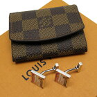 ルイヴィトン Louis Vuitton カフスボタン ピンクxシルバー 925 レディース メンズ 【中古】【定番人気】 - 51631