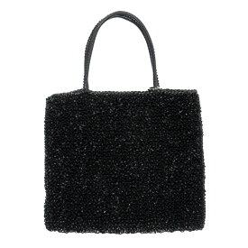 アンテプリマ ANTEPRIMA ハンドバッグ ワイヤーバッグ ブラック PVC 【中古】【定番人気】 - h27147f